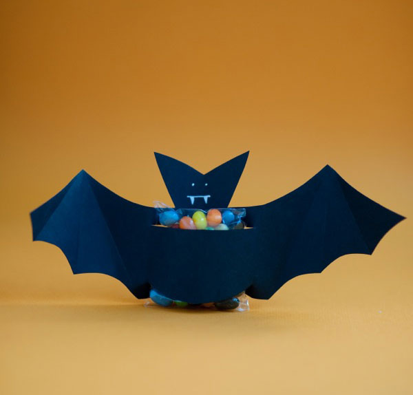 Une «bat-bonbons » Halloween ;)