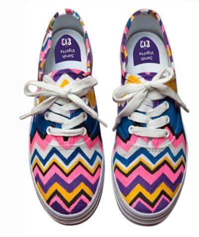 Personnaliser ses chaussures : notre DIY coloré !