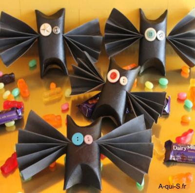 Les boîtes à bonbons d'Halloween !