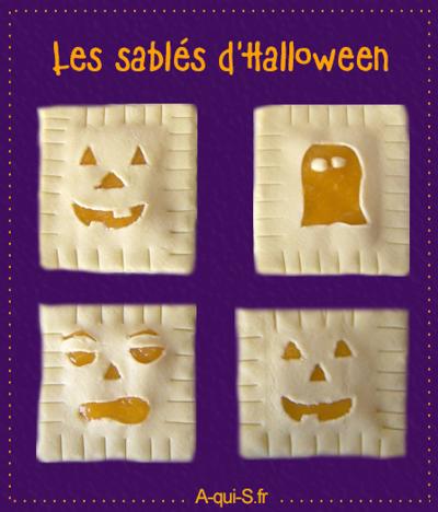 Les sablés terrifiants à grignoter le jour d'Halloween !