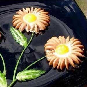 Recette Knacki en fleurs : testée et approuvée par les enfants !