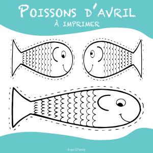 Des petits poissons pour le 1er avril - Imprimer poisson d avril ...