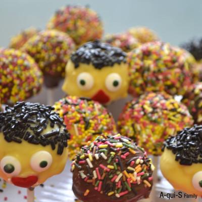 Les jolis cake-pops d'Alys :)