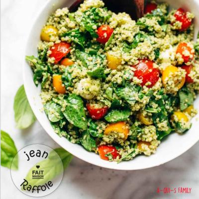 Quinoa aux épinards : un repas sain pour toute la famille !