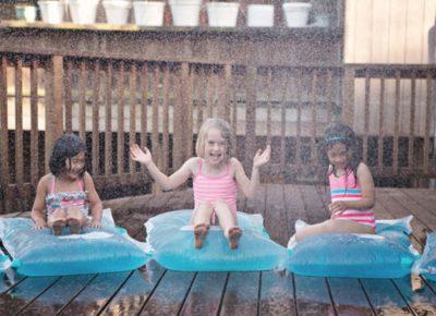 Fabriquer un coussin d'eau :  l'objet idéal pour l'été !