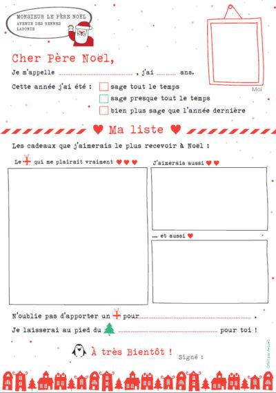 Téléchargez la lettre au Père Noël de A-qui-S