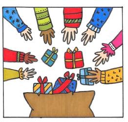 La belle idée de Noël  : Un calendrier de l'Avent inversé