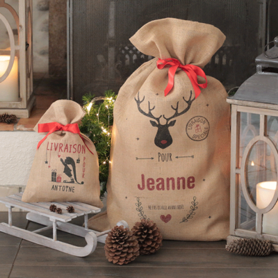 La Hotte de Noël pour les petits et grands cadeaux !