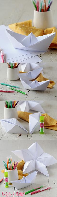 diy origami pour les enfants des