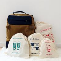 Colonie, classe verte, week-end chez mamie : organiser une valise !