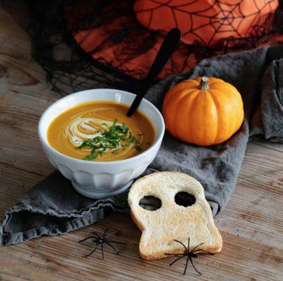 Recette d'Halloween : La soupe potimarron et châtaignes