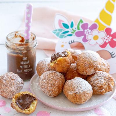 Beignets au chocolat ou à la confiture : notre recette facile et délicieuse !