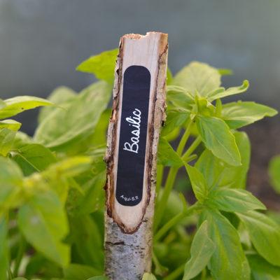 Étiquettes jardins pour potager et plantes aromatiques !