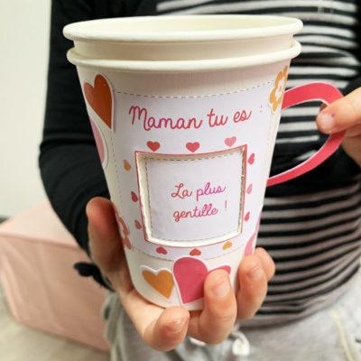 Idée bricolage fête des mères : De l'amour sans sucre s'il vous plaît !