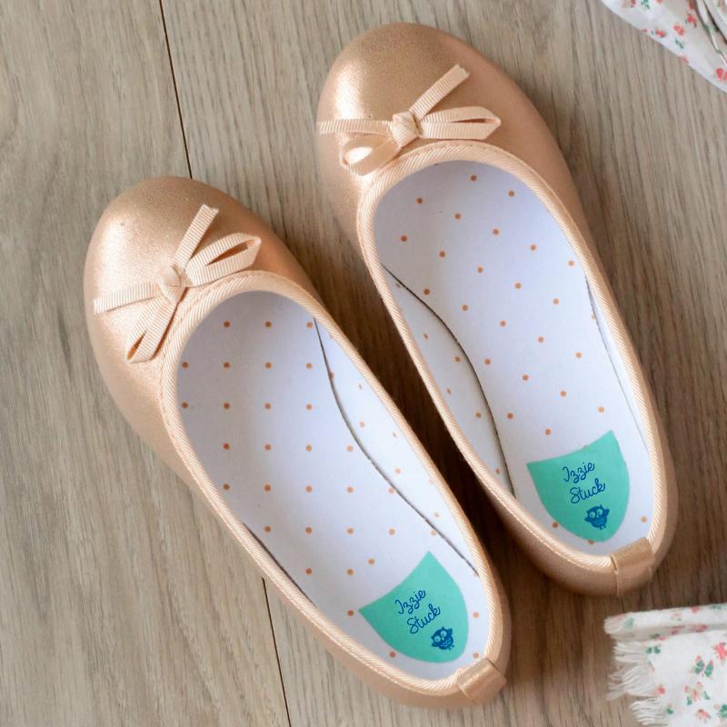 étiquettes chaussures