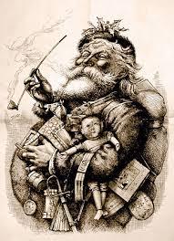 Santa Claus par Thomas Nast, 1885